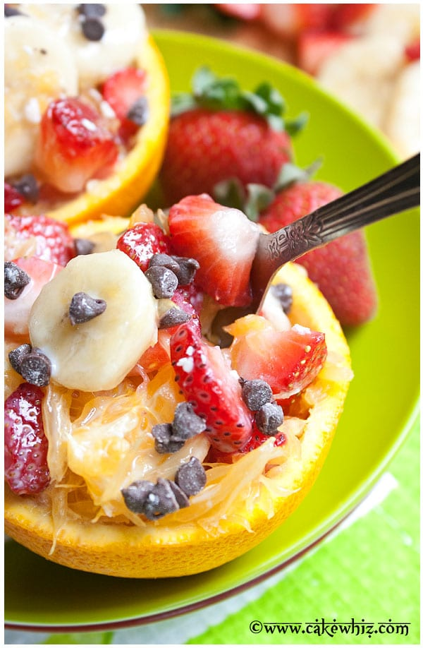Homemade Orange Fruit Salad