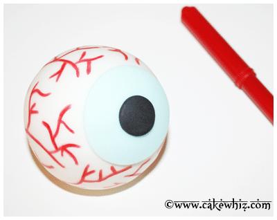 easy eyeball cake tutorial 12