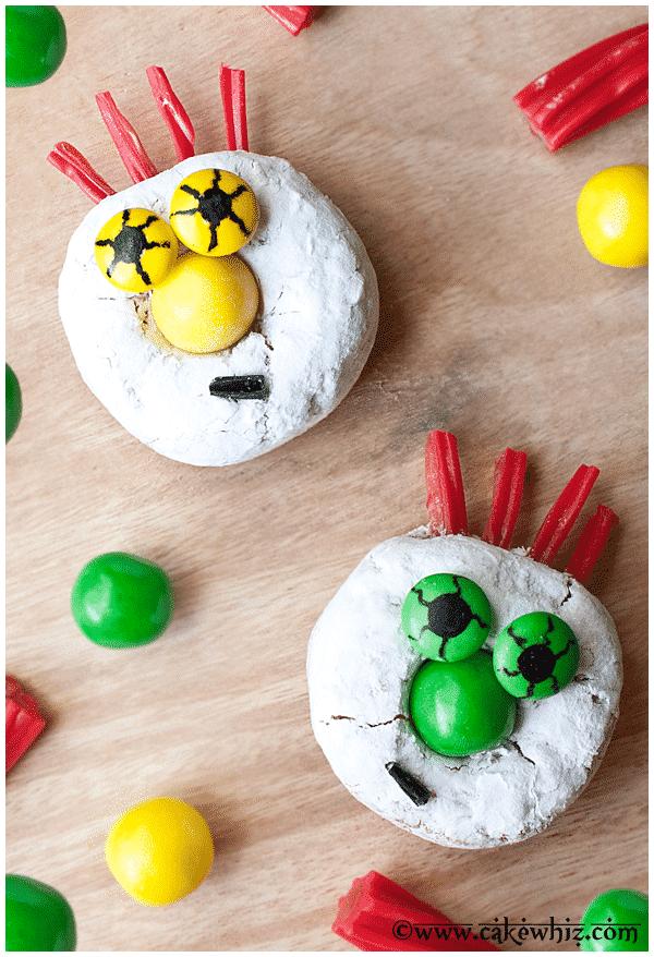 halloween monster donuts 3