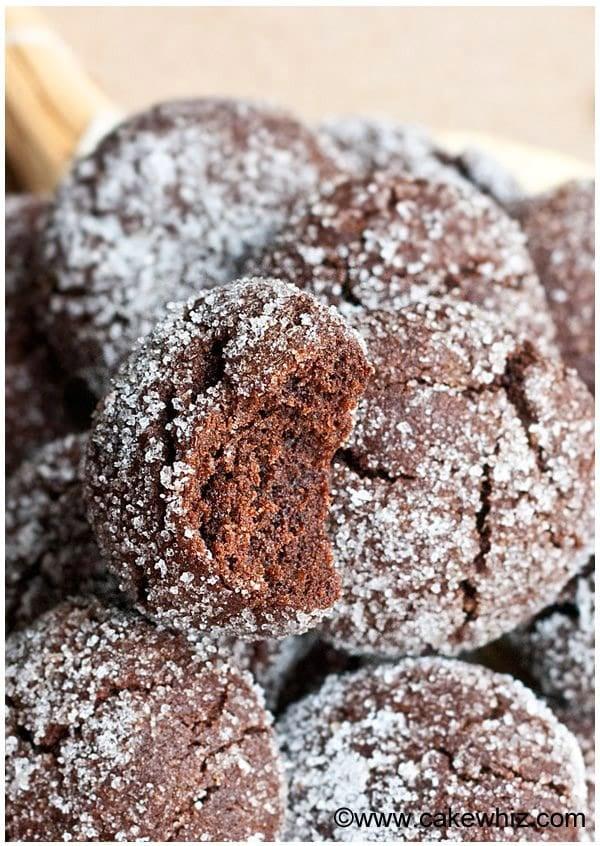 Mocha Crinkle Cookies Recipe 1