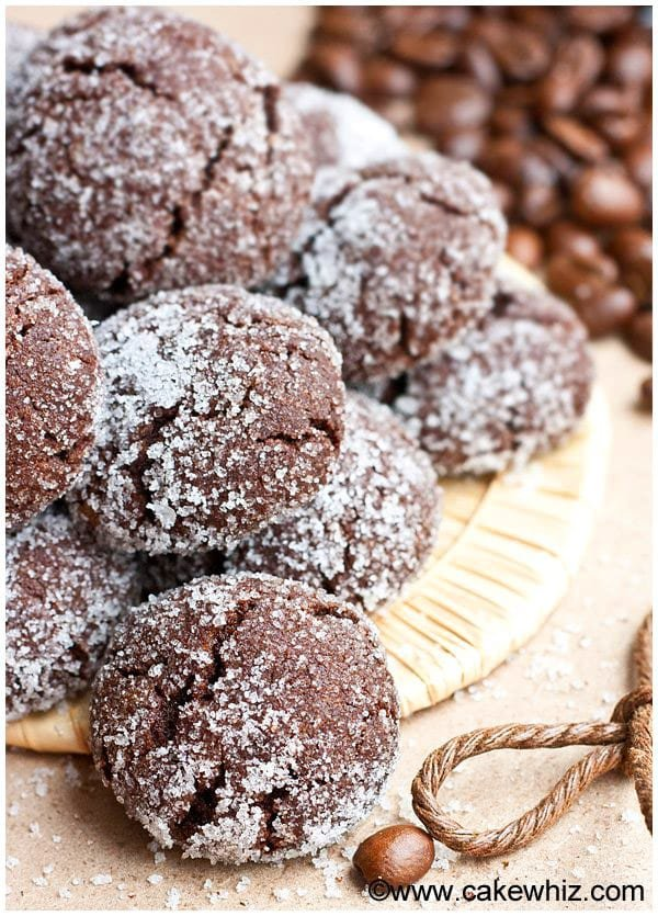 Mocha Crinkle Cookies Recipe 3