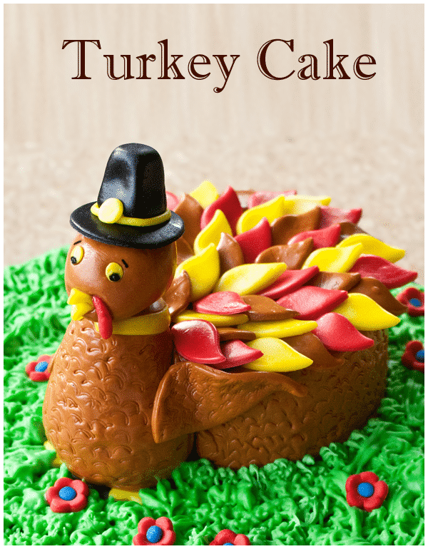 turkey cake tutorial 16