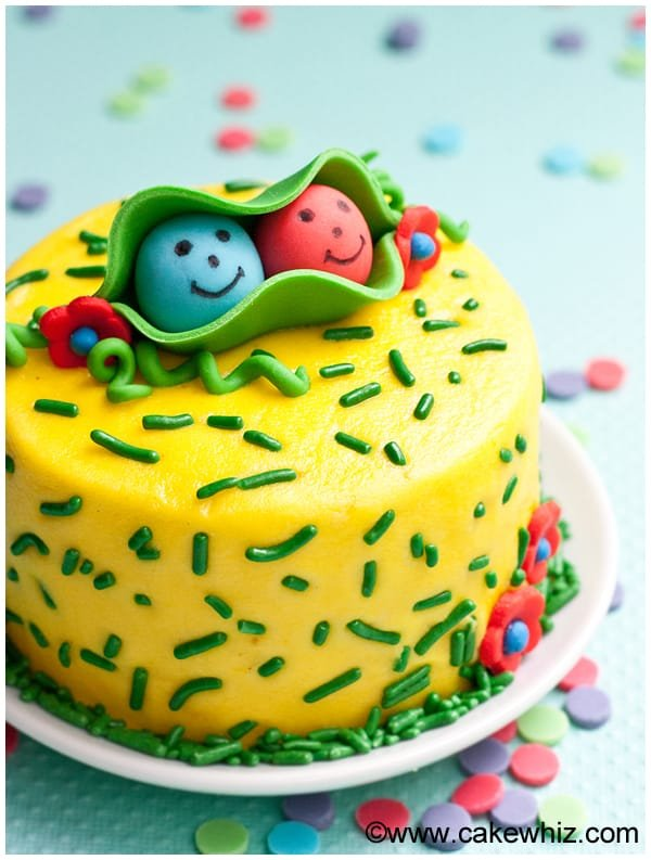 two peas in a pod cake 1
