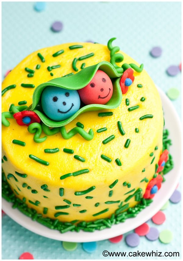 two peas in a pod cake 2
