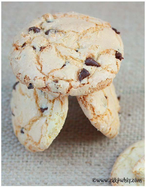 crackly chocolate chip sugar cookies