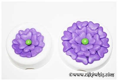 how to make easy fondant fantasy flowers 10