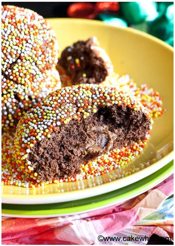 rolo chocolate cookies