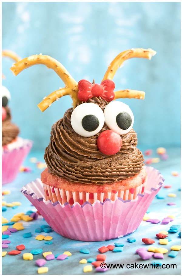 rudolph reindeer cupcakes 1