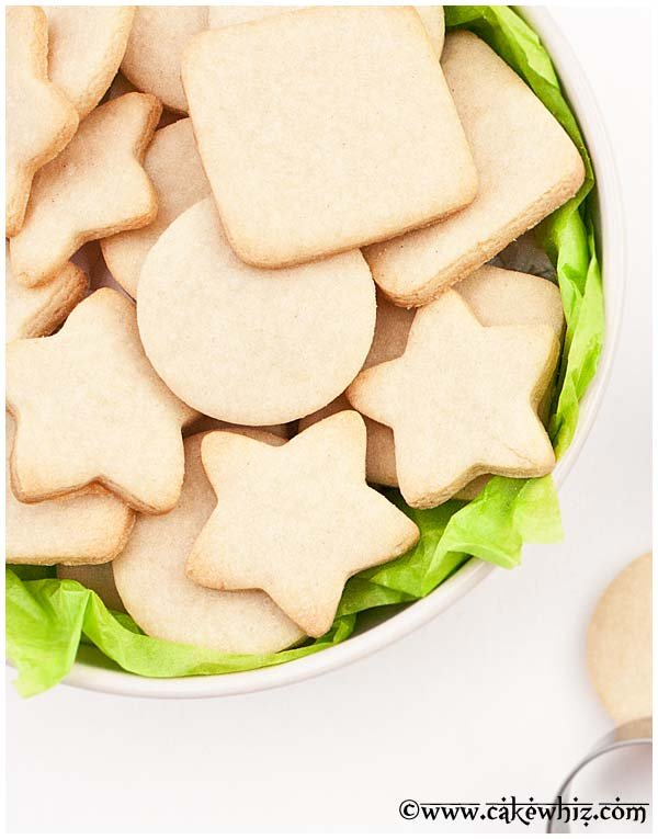 small batch of sugar cookies