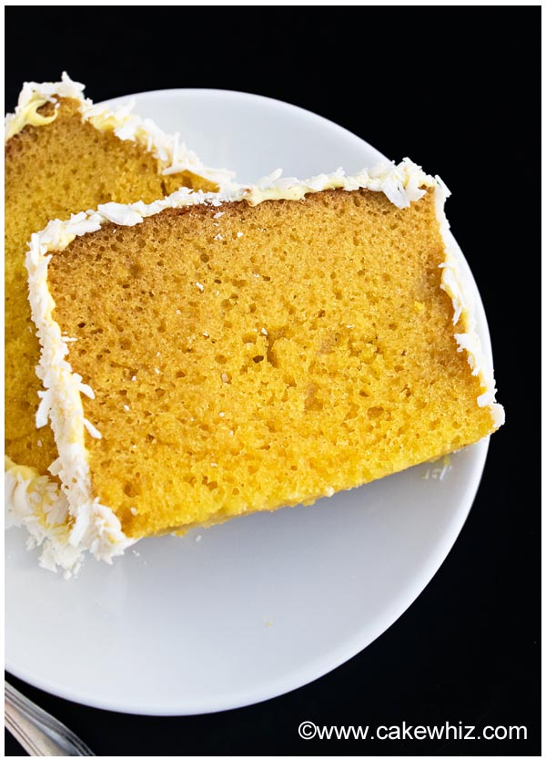 Mango Coconut Cake Recipe