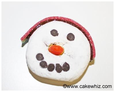 snowman donuts 14