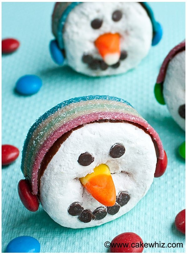 snowman donuts 2