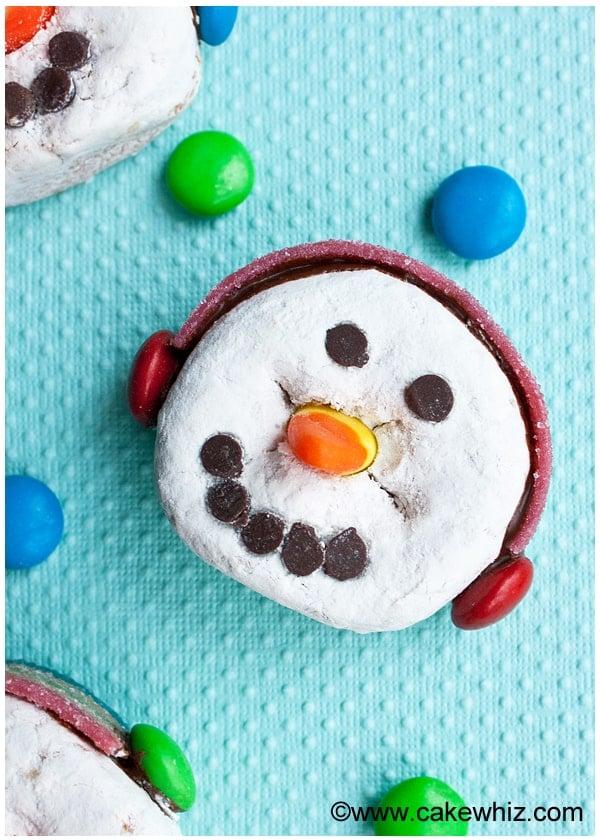 snowman donuts 7