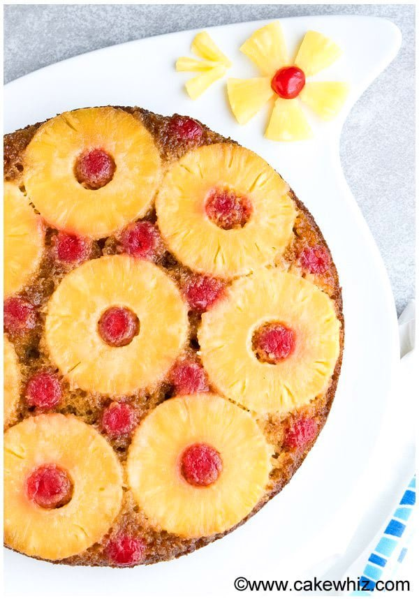 Homemade Pineapple Upside Down Cake Recipe From Scratch 2