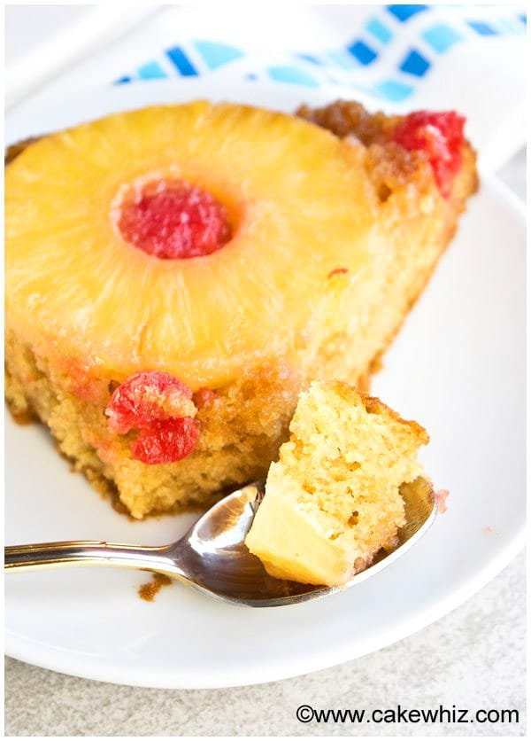 Homemade Pineapple Upside Down Cake Recipe From Scratch 5