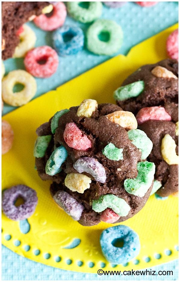 fruit loops chocolate cookies 9