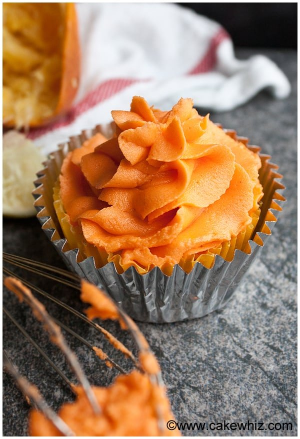 How to Make Orange Frosting