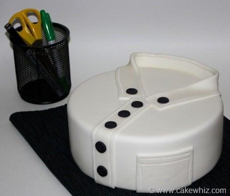 how to make a shirt cake