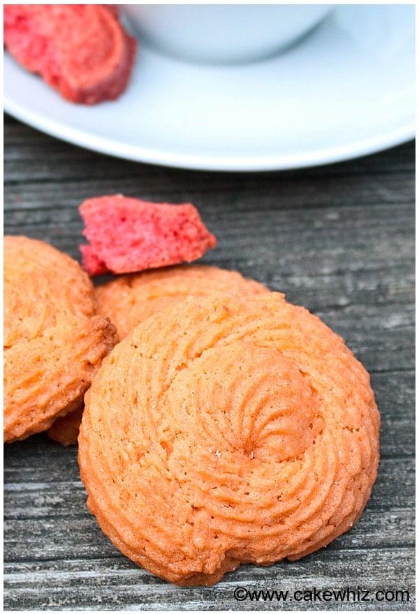 raspberry rose cookies 12