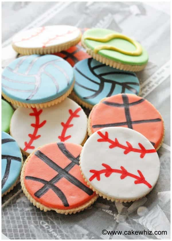 10 fun father's day ideas- sports ball cookies