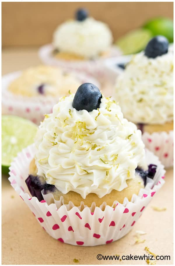 Easy Blueberry Cupcakes Recipe