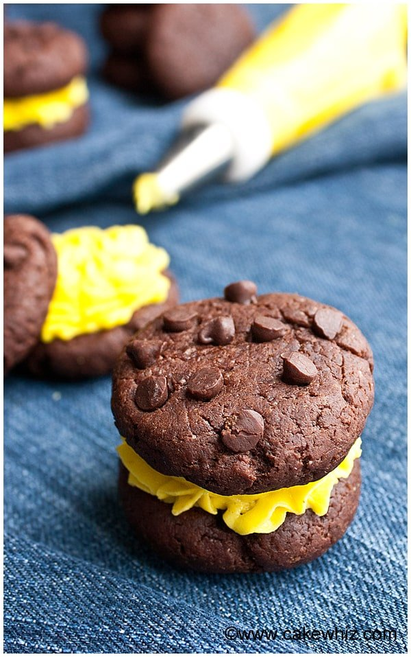 healthy chocolate avocado cookies 9