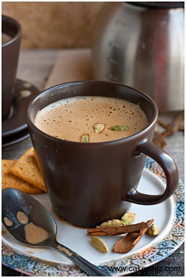 Masala Chai Tea Latte 3