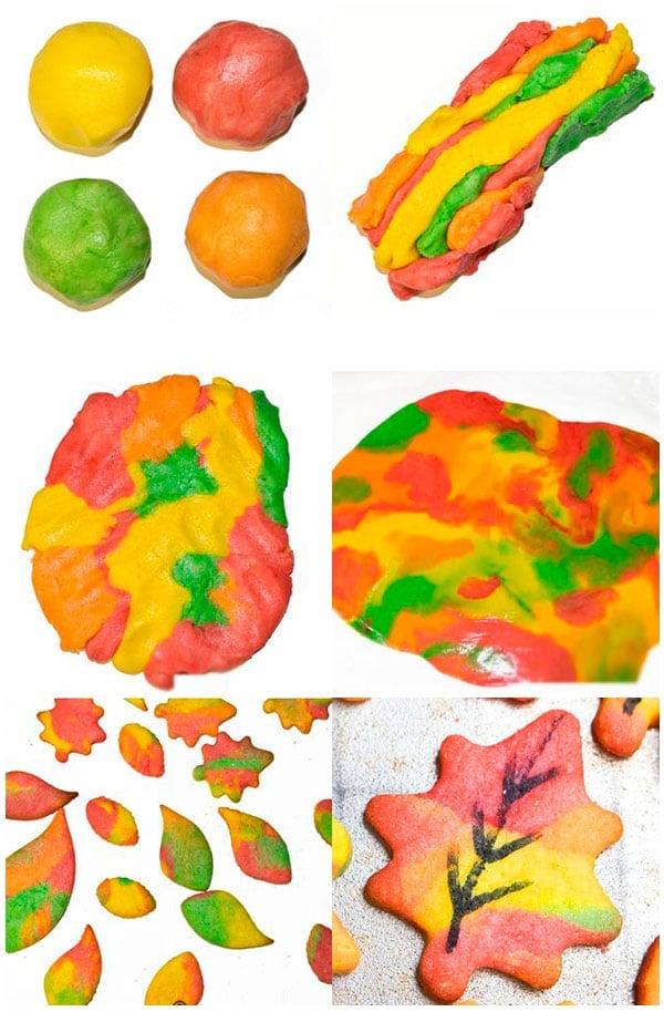 Easy Fall Cookies (Leaf Coookies Tutorial)