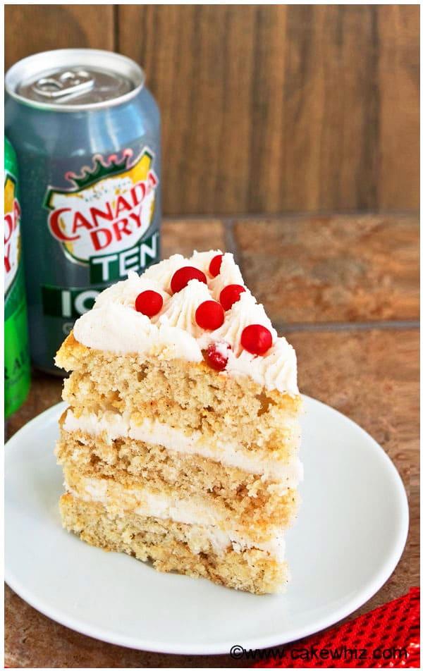 Easy Moist Ginger Cake (Ginger Ale Cake)