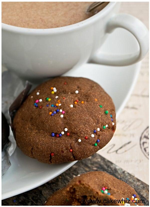 peppermint stuffed chocolate sugar cookies 2