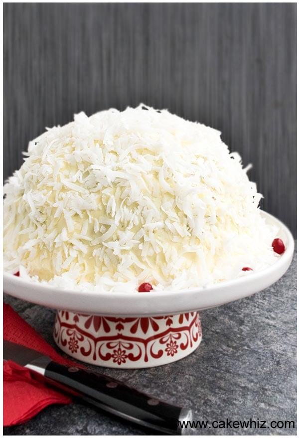 Easy Snowball Cake Recipe