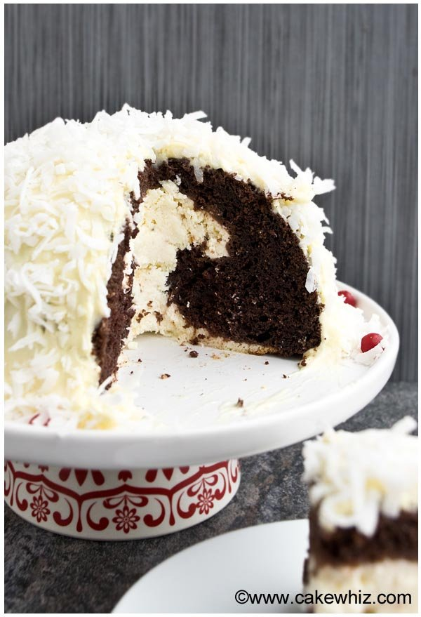 How to Make Snowball Cake