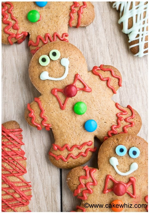 Easy Gingerbread Cookies Recipe with Cake Mix