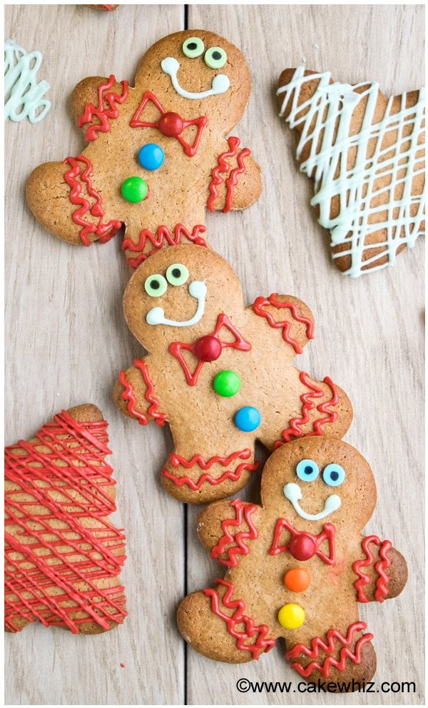 Best Gingerbread Man Cookies with Cake Mix