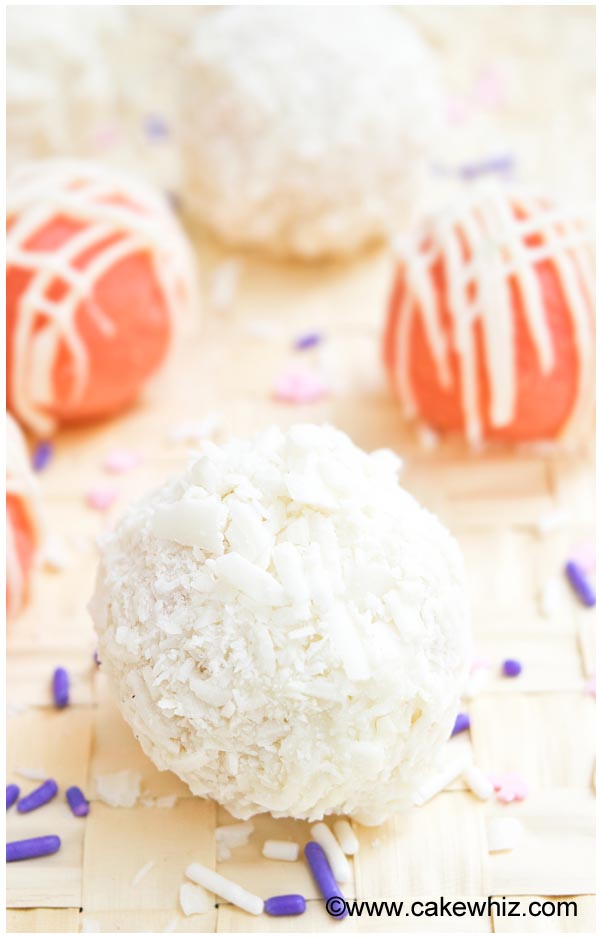 Easy Cake Truffles or Cake Balls Recipe