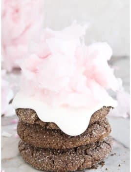 Cotton Candy Cookies With Cake Mix