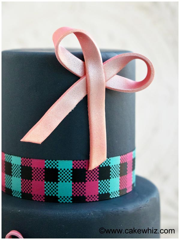 how to make easy fondant bows 3