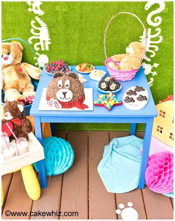 teddy bear party 1
