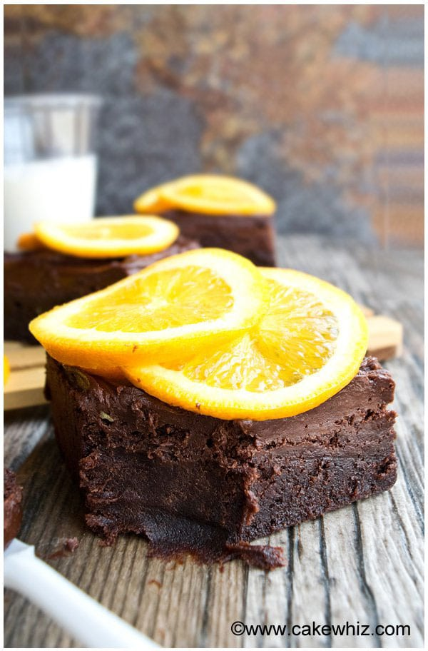 Easy Chocolate Orange Brownies Recipe From Scratch 1