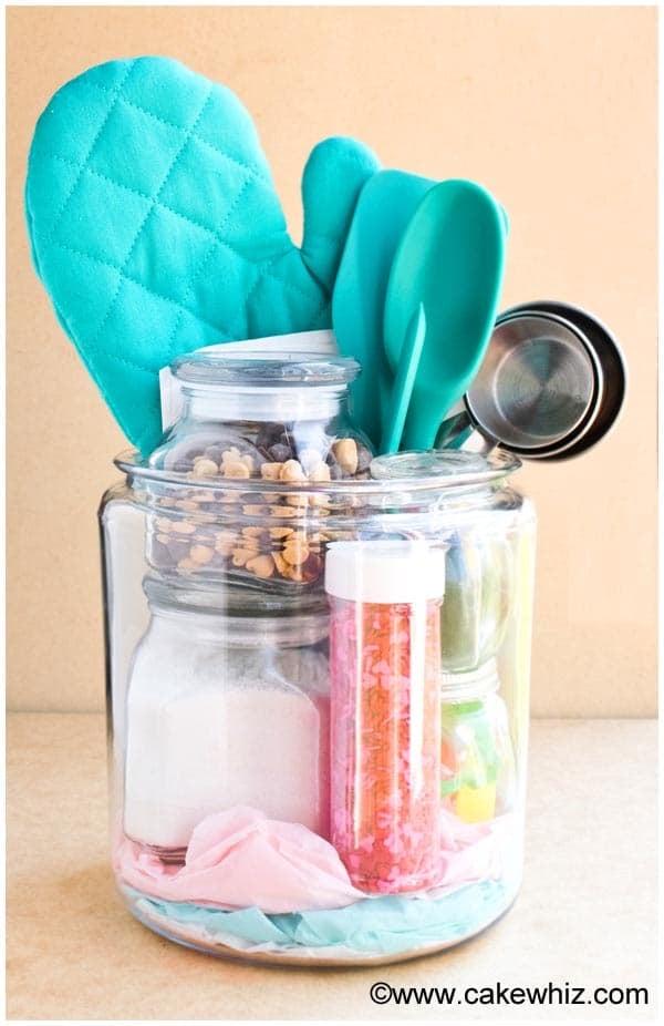 homemade baking kit in a jar 10