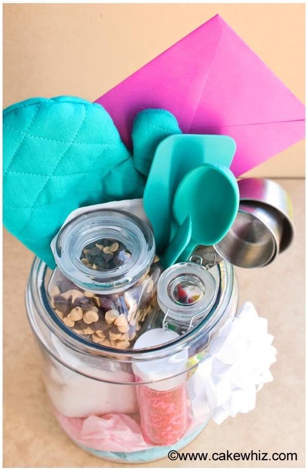 homemade baking kit in a jar 20