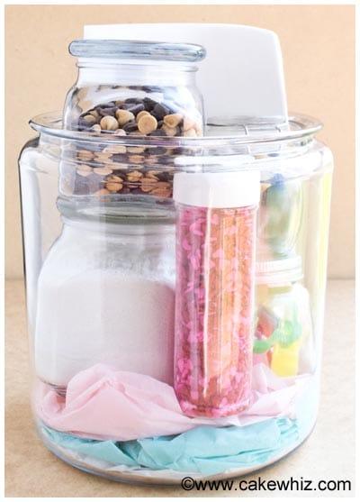 homemade baking kit in a jar 9