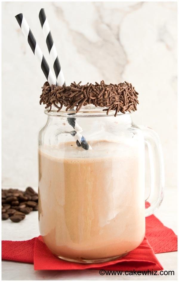 mocha smoothie 2