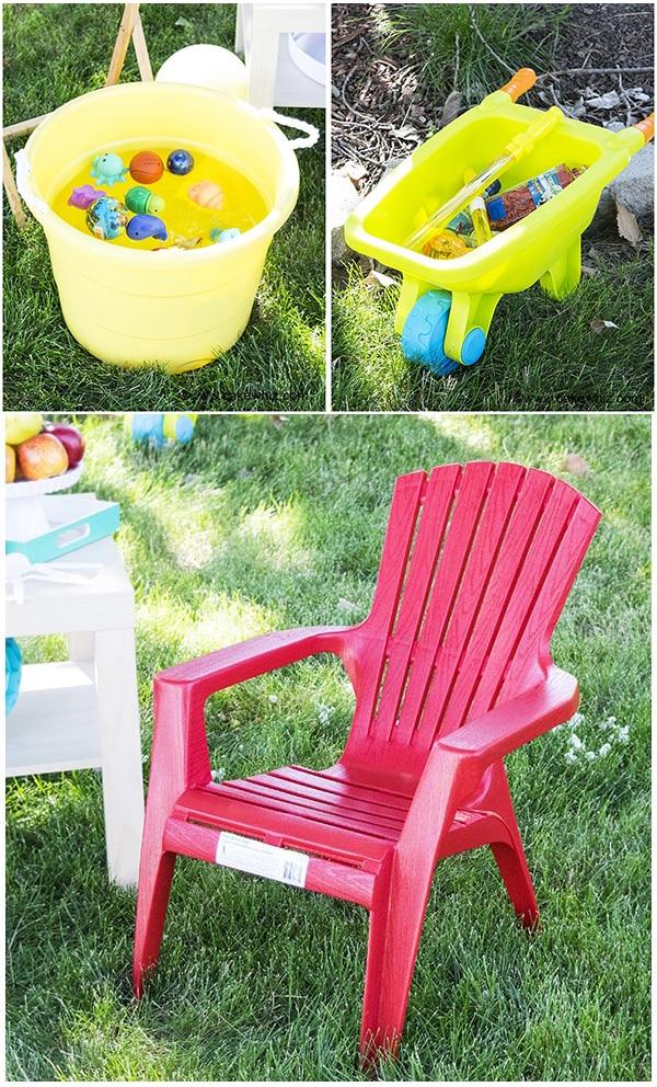 backyard kids summer party 28