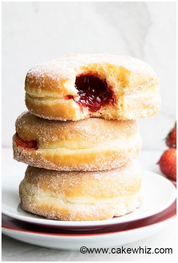 Homemade Jelly Doughnuts (Donuts)
