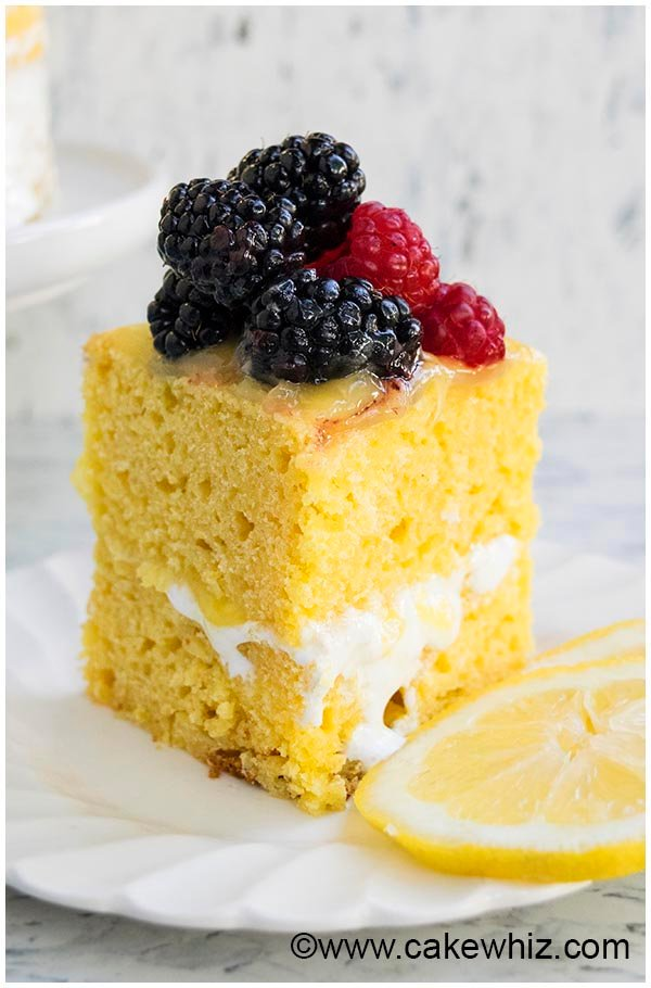 moist lemon cake recipe 4