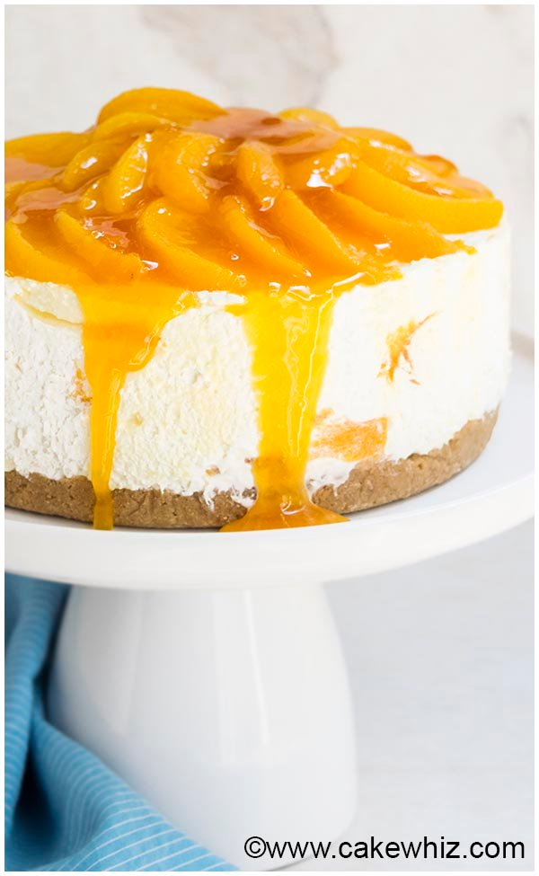 no bake peach cheesecake recipe 5