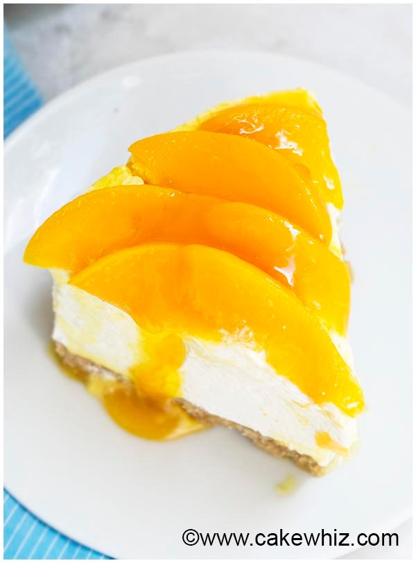 no bake peach cheesecake recipe 8