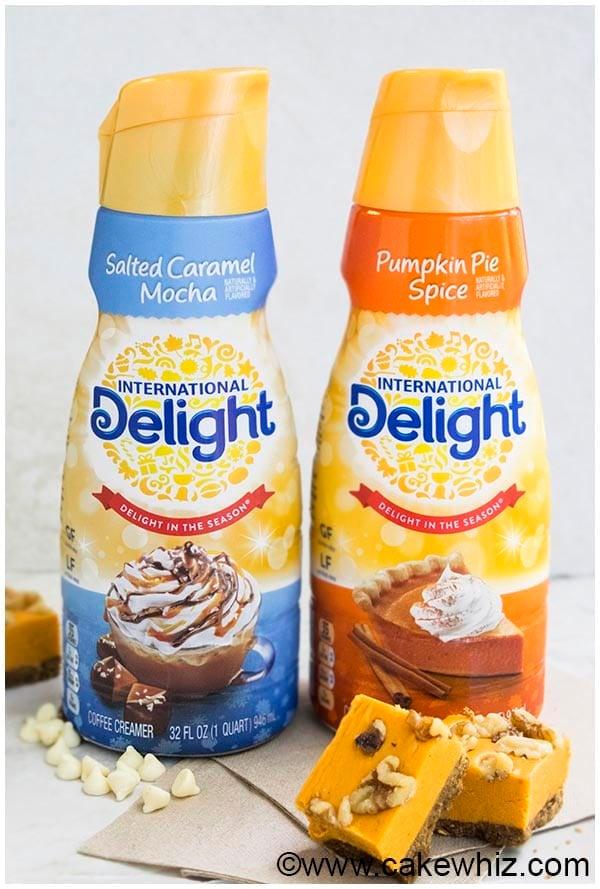 international delight pumpkin creamer campaign