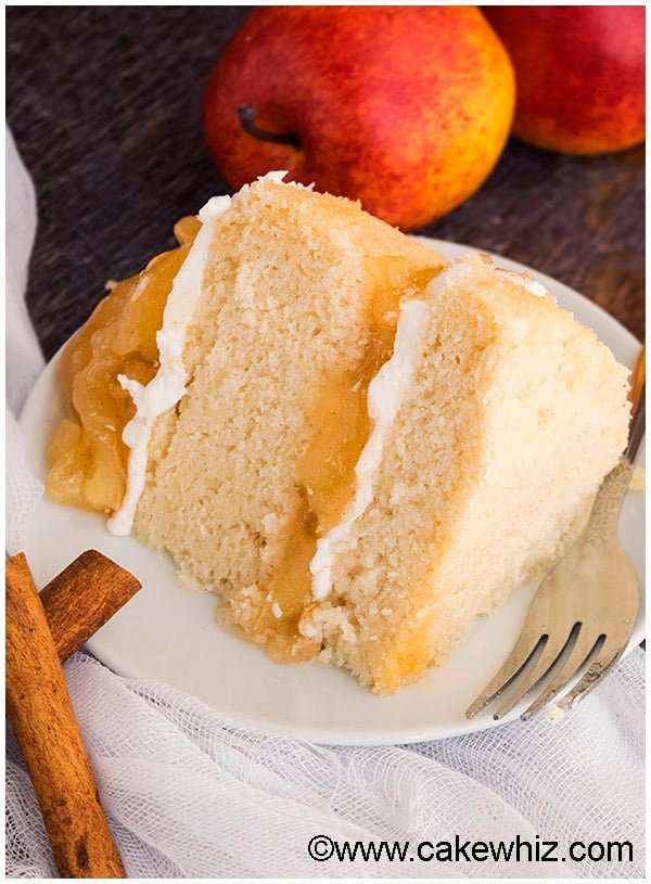 Easy Cinnamon Apple Pie Layer Cake Recipe